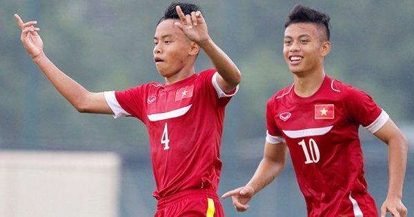 U16 Việt Nam qua mặt Thái Lan và Australia tại U16 AFF Cup