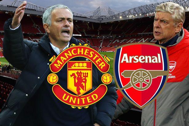 Arsenal đối đầu Man United