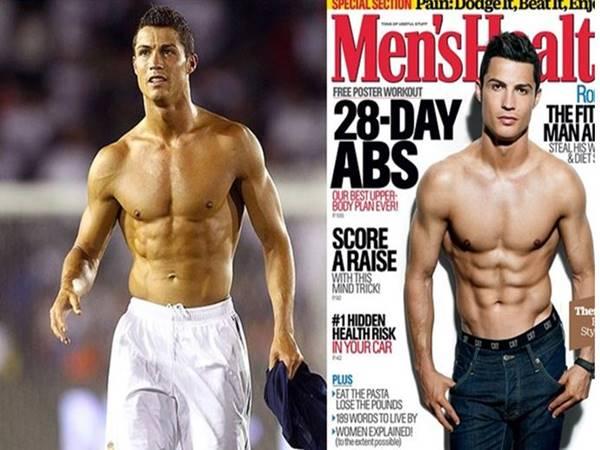 Bí quyết sở hữu cơ bụng 6 múi của Ronaldo