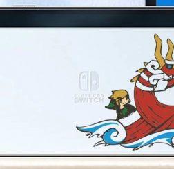 Mô hình Nintendo Switch OLED nhận được skin Waker tuyệt đẹp